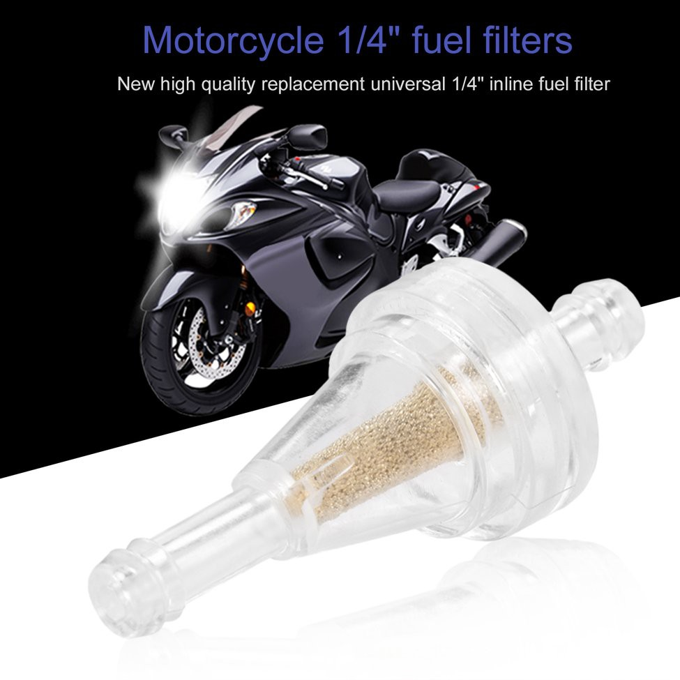 medium resolution of 1x universal motorcycle right angle inline fuel filter 1 4 6mm hose lines shopee philippines