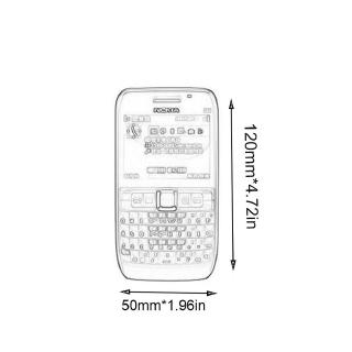 Mobile Phone Enlish Or Russia Keypad For Nokia E63 For Old
