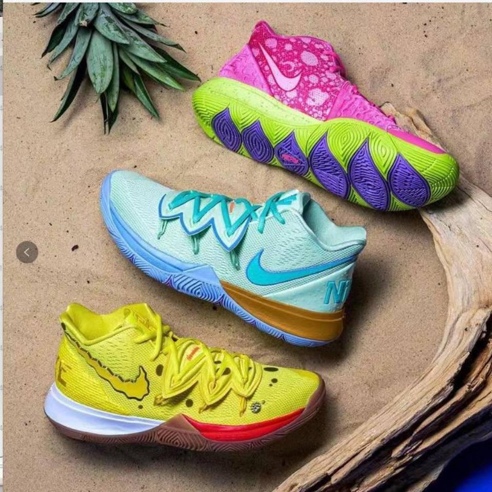 Nike Kyrie Irving 5 SpongeBob Patrick Star For women high kids Basketball Shoes 40-46   Shopee Philippines