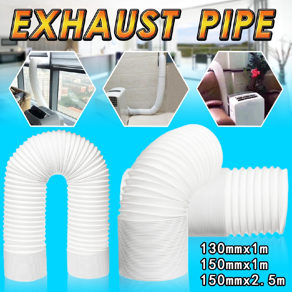 2 5m 1m flexible air conditioner exhaust pipe vent hose duct
