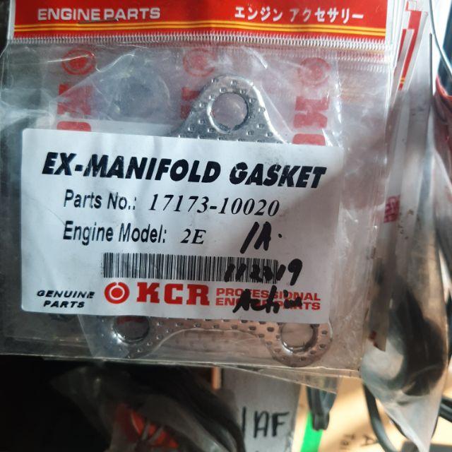 exhaust manifold gasket toyota corolla 12valves 2e 2pcs