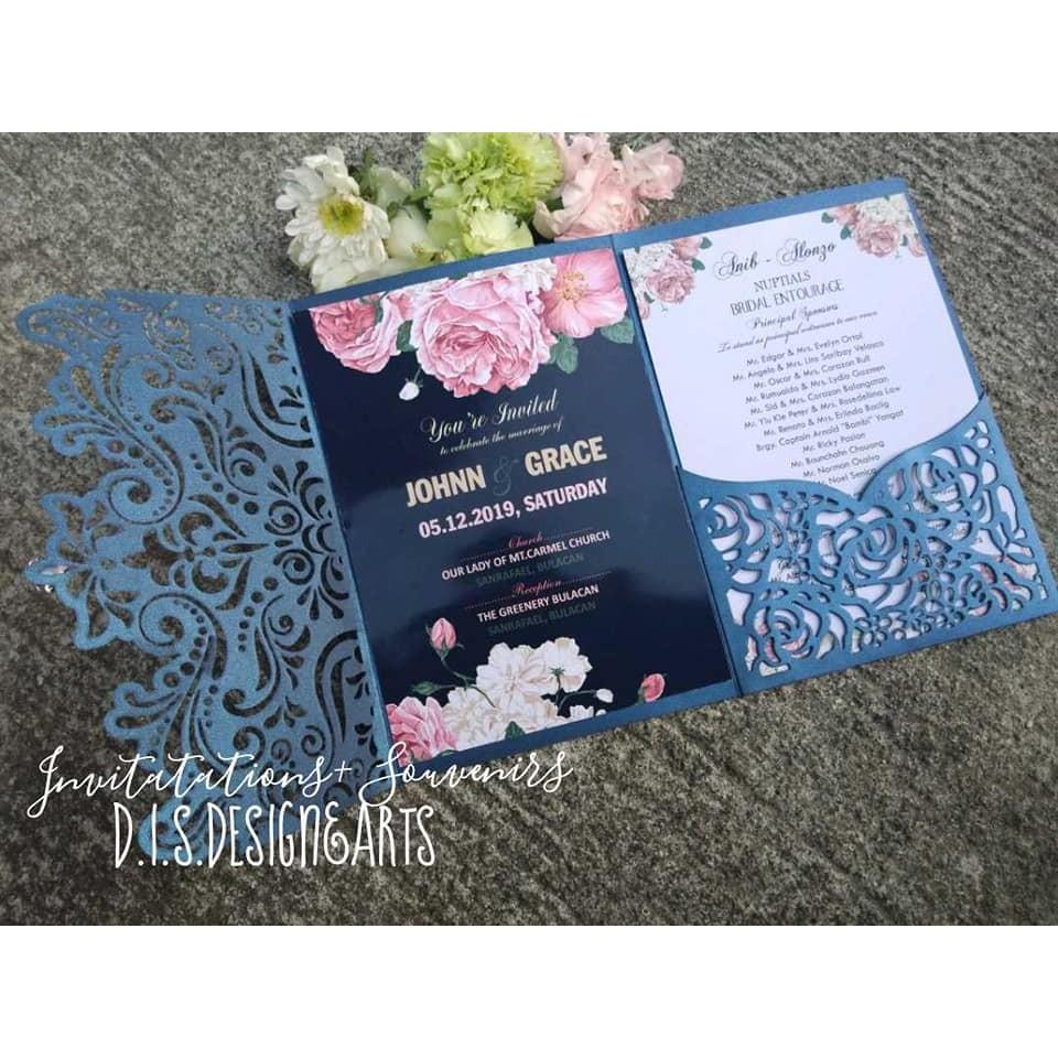 elegant 18th birthday invitation