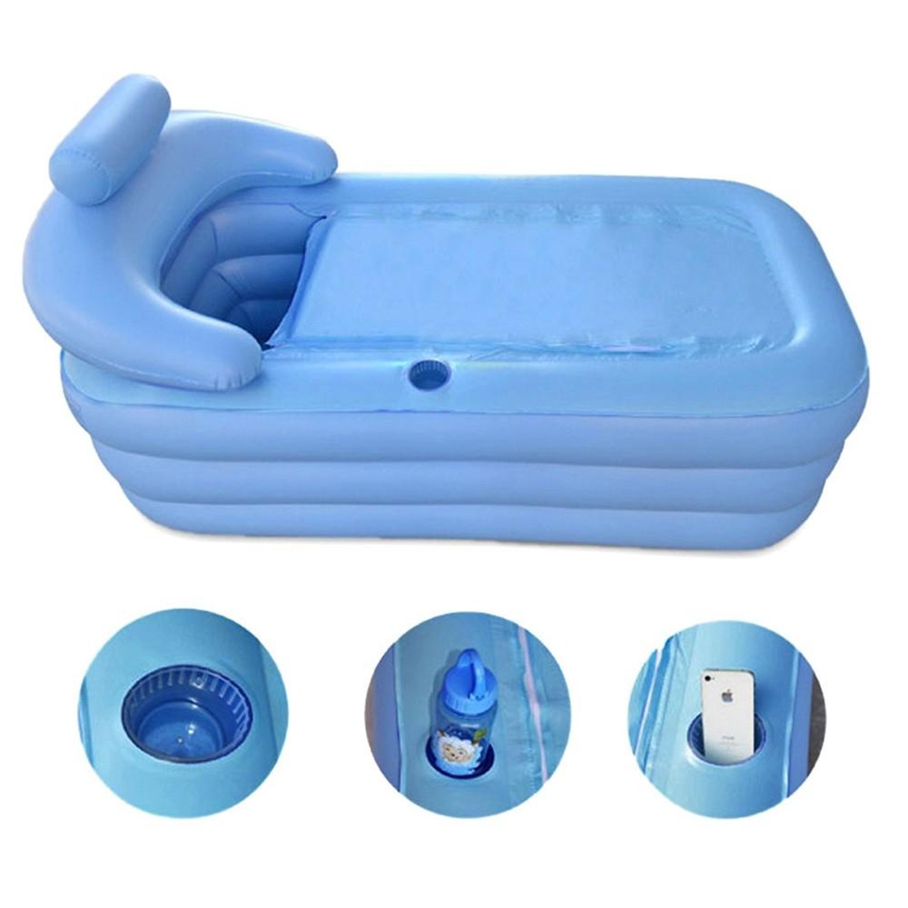 Bathtub Folding Inflatable Portable Spa PVC Shopee
