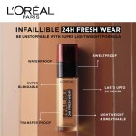 L Oreal Infallible 24hr Fresh Wear Foundation 19 Different Shades To Choose Shopee Singapore