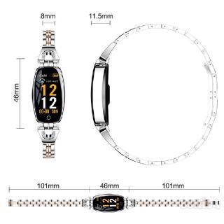 H8 Smart Bracelet Women Activity Fitness Tracker Heart