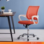 Computer Desk Chair Gaming Ergonomic Mid Back Cushion Lumbar Support With Wheels Seat Adjustable Swivel Rolling Chair Shopee Singapore
