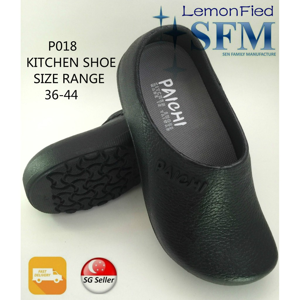 kitchen safety shoes for women molding on top of cabinets p018 make in taiwan slippers black sg