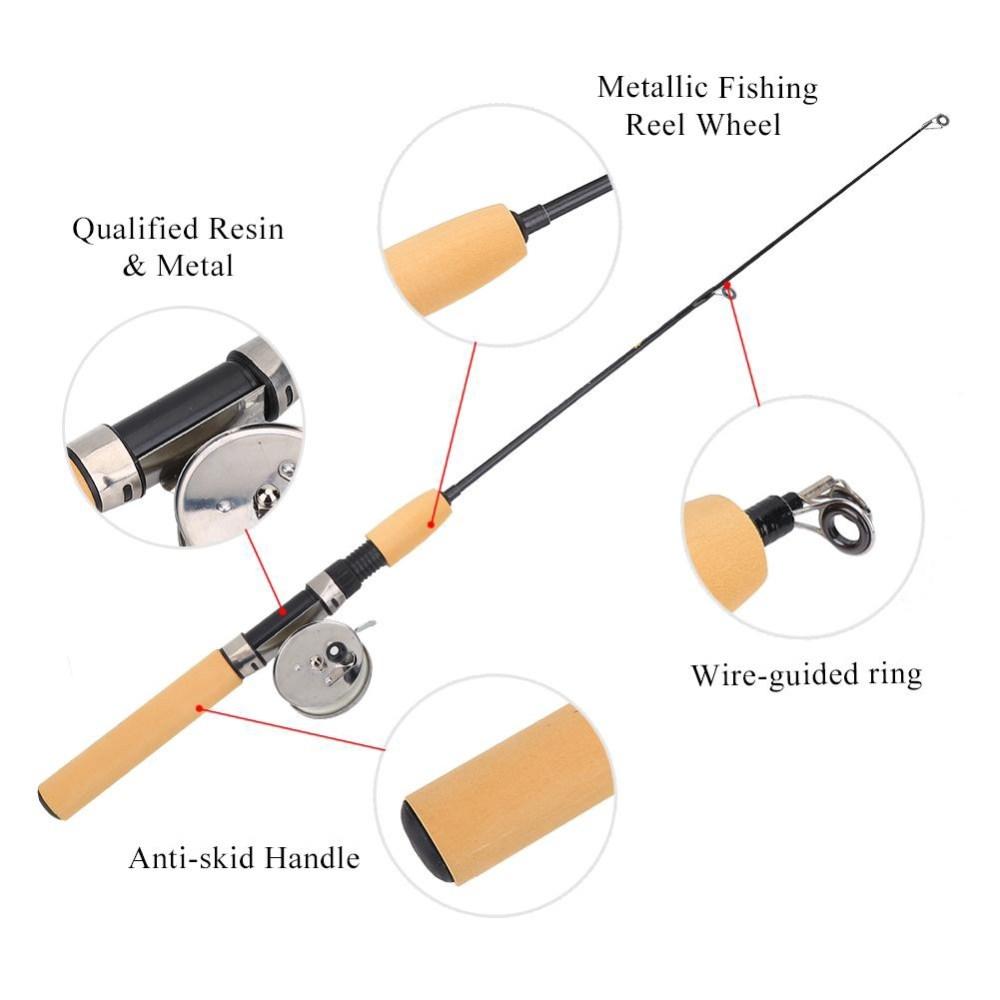 medium resolution of children s kids fishing tackle kit portable rod reel set shopee singapore