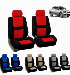 full set car seat covers polyester fit truck suv 2 heads beige blue red gray shopee singapore [ 1024 x 1024 Pixel ]