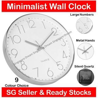 designers wall clock shopee