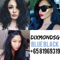 Blue Black Hair Dye | Shopee Singapore