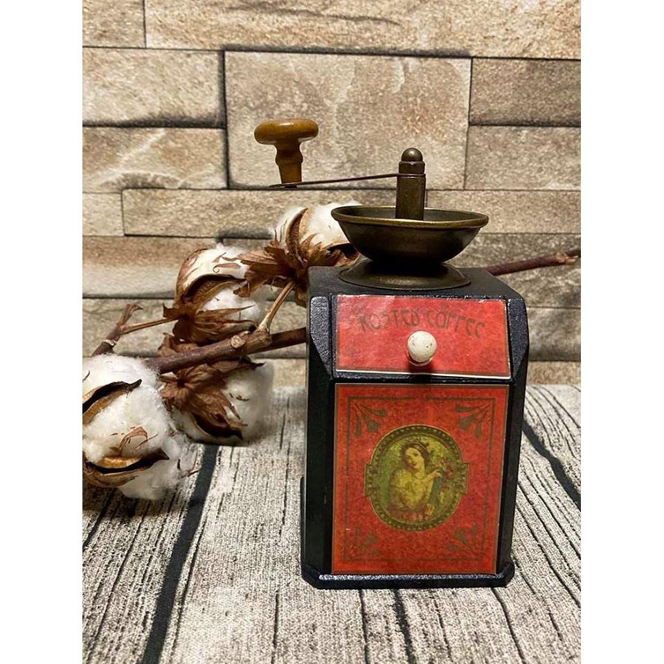 #19世紀 袖珍咖啡磨擺飾收藏品 #119384   蝦皮購物