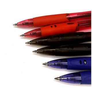 圓珠筆0.7MM 紅/藍/黑 握筆處有附軟套 超好握 原子筆 藍筆 黑筆 紅筆 中性筆 油性原子筆 水性原子筆 便宜   蝦皮購物