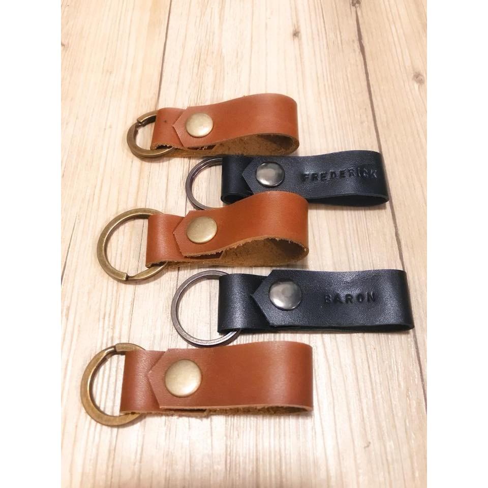 《小樹皮革》真皮鑰匙圈/皮革鑰匙圈 | 蝦皮購物