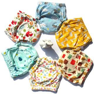 ┅ 嬰兒褲衩隔尿透氣尿布褲可水洗超薄芥子紙尿片固定褲無需墊尿片夏   蝦皮購物