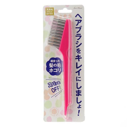 【現貨】日本 髮梳清潔刷 梳子清潔 毛髮清潔 桃子小姐日貨專售 | 蝦皮購物