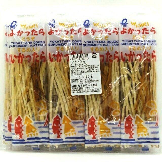 [現貨] 日本一榮魷魚鱈魚香絲 一榮鱈魚絲(7g) 日本零食   蝦皮購物