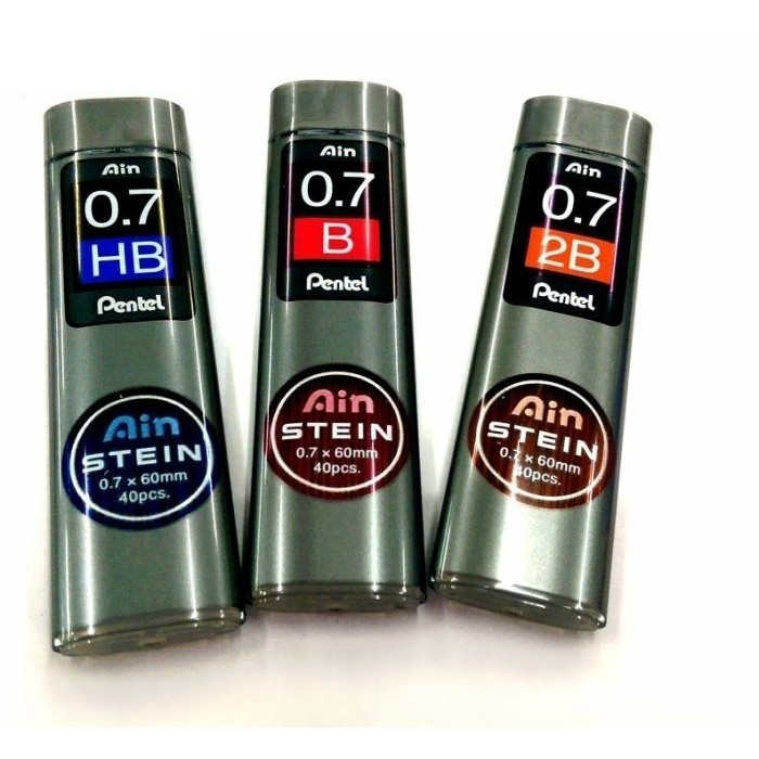 [現貨] CHL PENTEL 飛龍 C277 Ain STEIN 0.7mm 自動鉛筆芯 2B/HB   蝦皮購物
