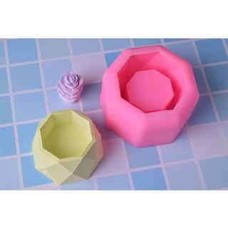 4款多肉花盆蛋糕矽膠模具 diy慕斯翻糖創意水泥石膏盆 | 蝦皮購物