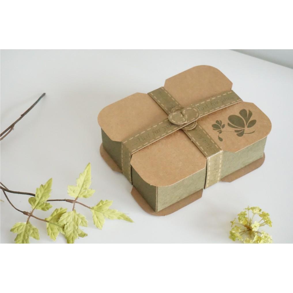 B-201-20 花語手工皂盒/手工皂禮盒/包裝盒/盒子/box/婚禮小物盒/貼紙~可裝2塊手工皂~1包數量20個   蝦皮購物
