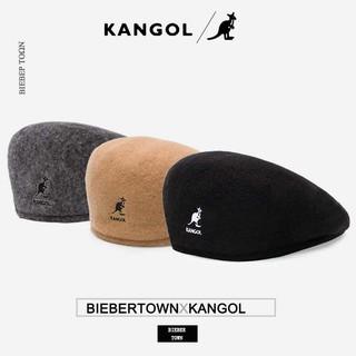KANGOL 袋鼠504 WOOL 安哥拉精緻羊毛網眼 貝雷帽 英倫鴨舌帽 畫家帽 小偷帽 | 蝦皮購物