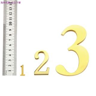 金屬古銅數字大小英文字母門牌房號牌數字標識門牌號碼門 | 蝦皮購物
