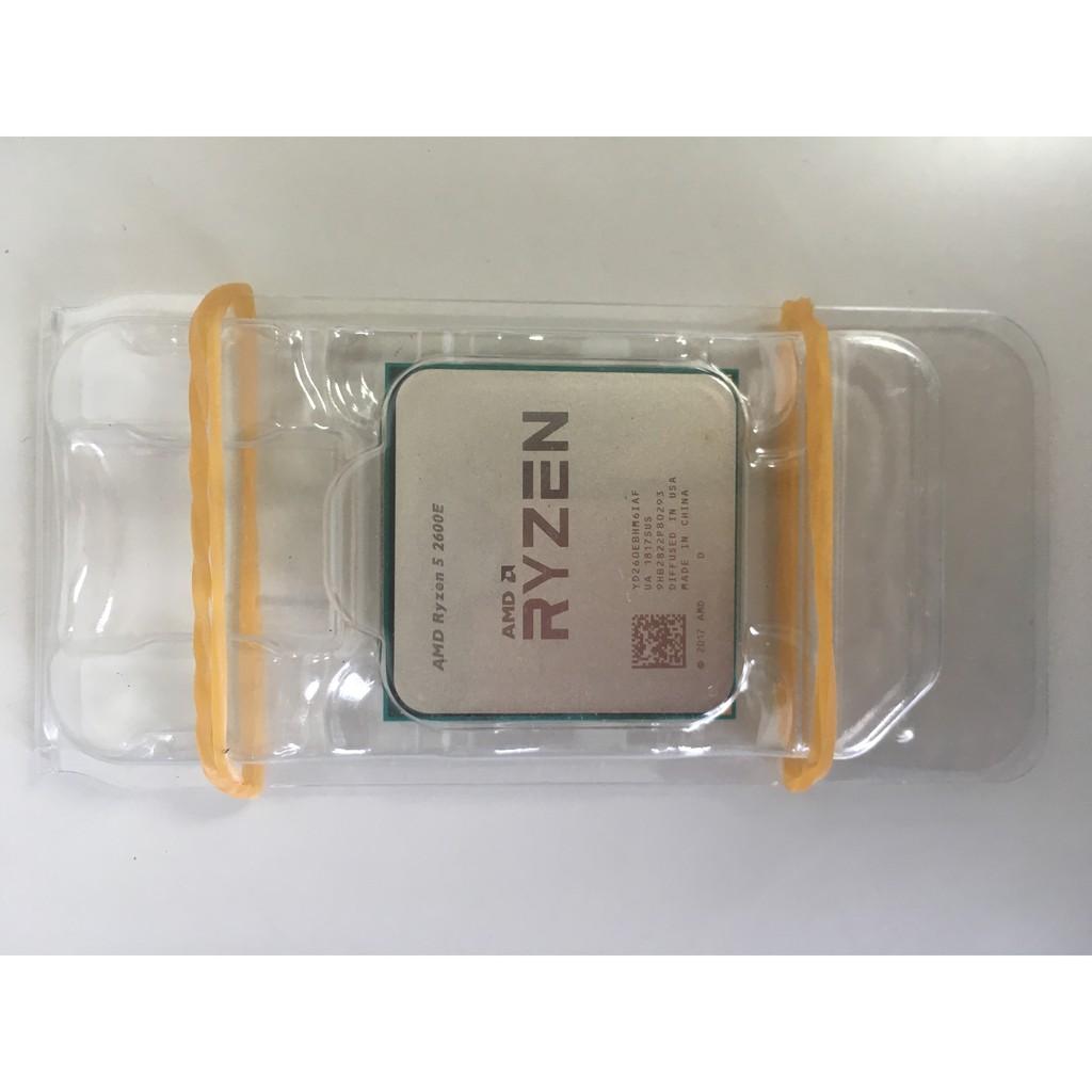 AMD Ryzen 2代 R5 2600E 6C12T 正式版 低功耗 散片   蝦皮購物