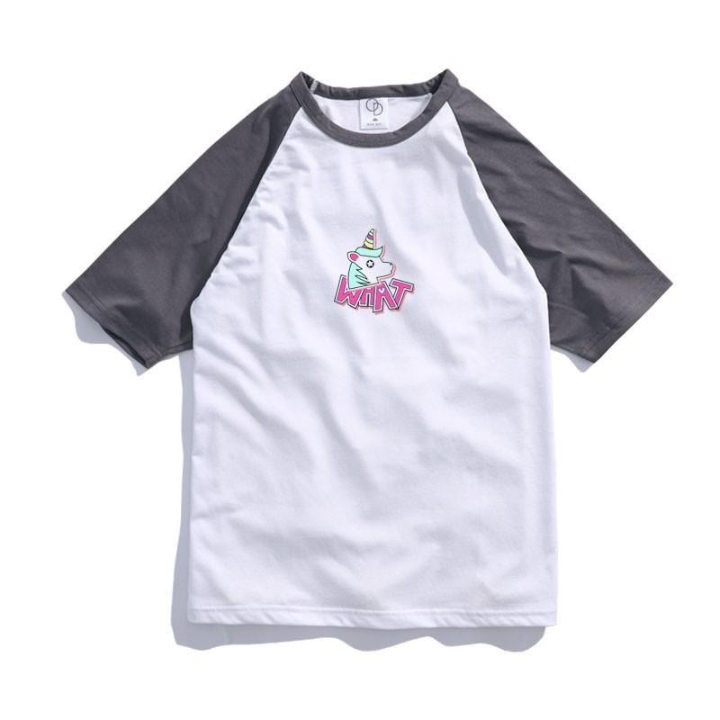 ONE DAY 臺灣製 155C333棒球短T 寬鬆衣服 短袖衣服 衣服 T恤 短T 素T 寬鬆短袖 短袖T恤 落肩短T | 蝦皮購物