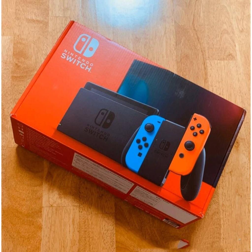 日版全新機/Switch破解電力加強版 全新 NS Switch主機【紅/藍】NS Lite主機 全配256G記憶卡 | 蝦皮購物