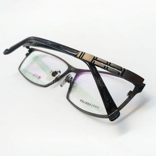 ⭐ 大頭尺寸 ⭐ [檸檬眼鏡] 橙川慎一 C137 D14 日本品牌消光槍色純鈦方框 時尚有型   蝦皮購物