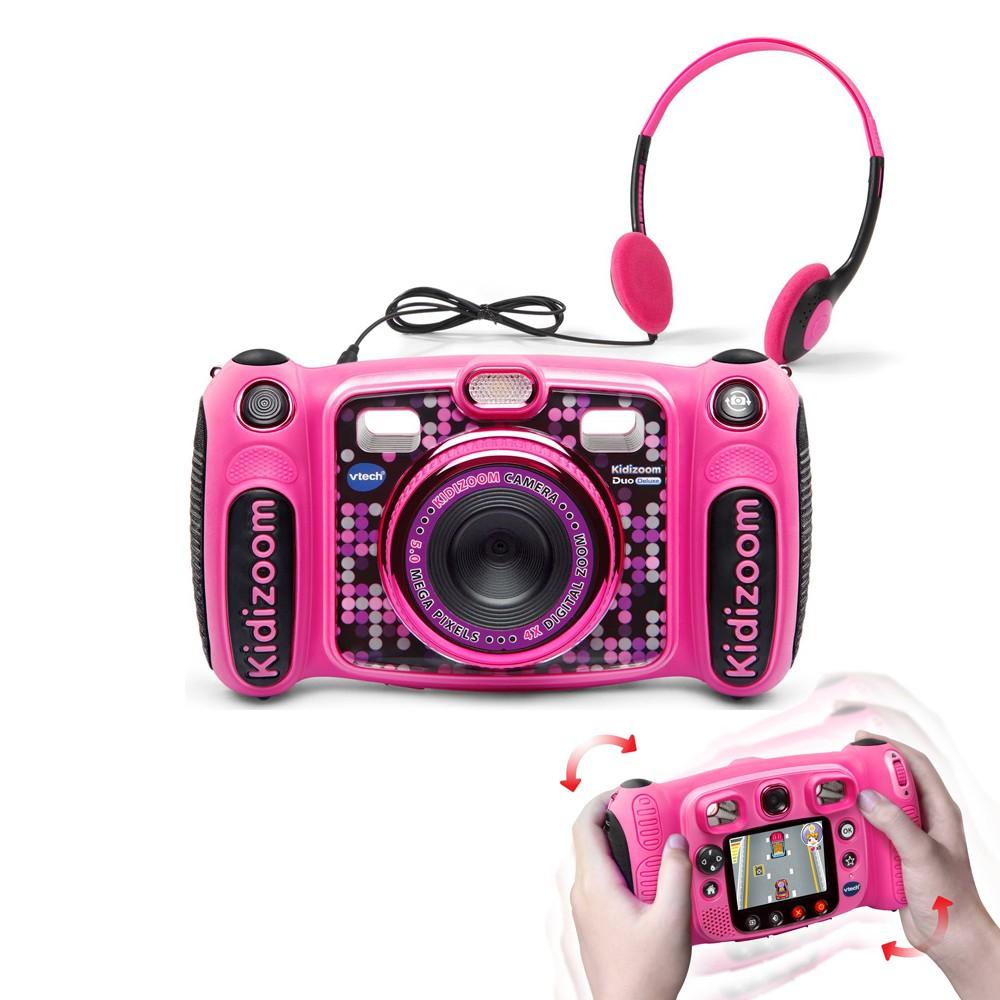 【WowLook】VTech Kidizoom DUO Deluxe 升級版 兒童數位相機防摔附耳機 可聽MP3 | 蝦皮購物