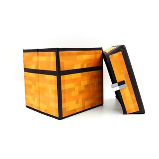現貨當個創世神我的世界周邊minecraft玩具道具Chest陷阱箱 多功能收納凳 儲物箱 | 蝦皮購物
