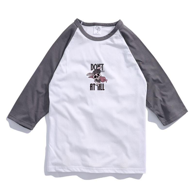 ONE DAY 臺灣製 157C292棒球七分T 寬鬆衣服 短T 短袖衣服 衣服 T恤 寬鬆短袖 短袖T恤 落肩短T | 蝦皮購物