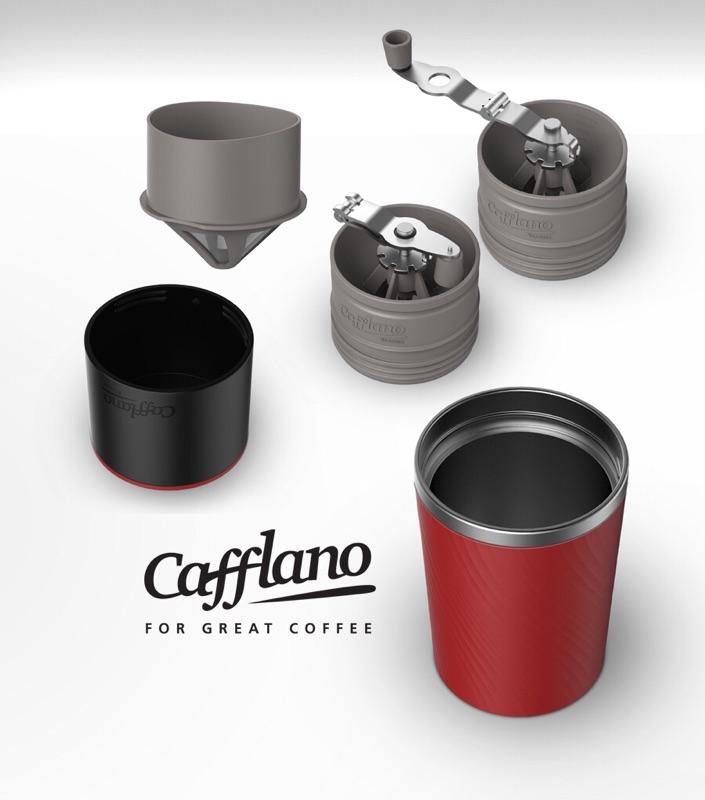 Cafflano ALL-IN-ONE 韓國進口研磨咖啡隨行杯   蝦皮購物