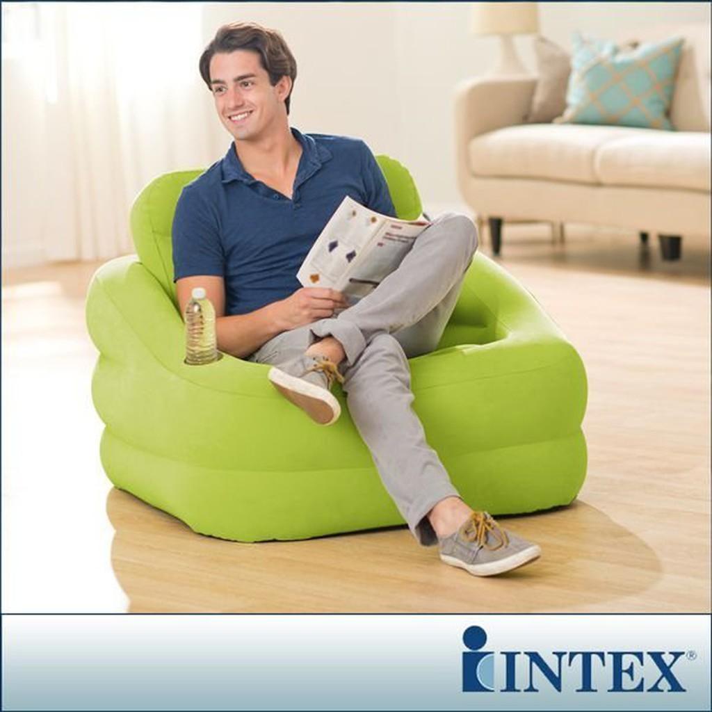 INTEX充氣沙發 蘋果綠-團購與PTT推薦-2020年10月|飛比價格