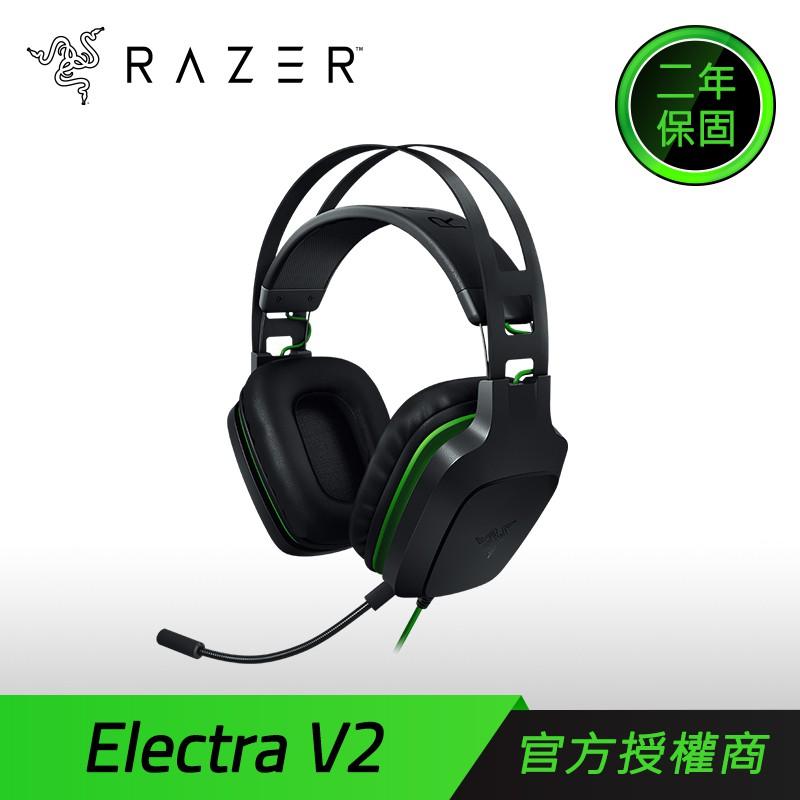 Razer 雷蛇 Electra V2 雷霆齒鯨 7.1 聲道 電競耳機麥克風 [免運速出]   蝦皮購物