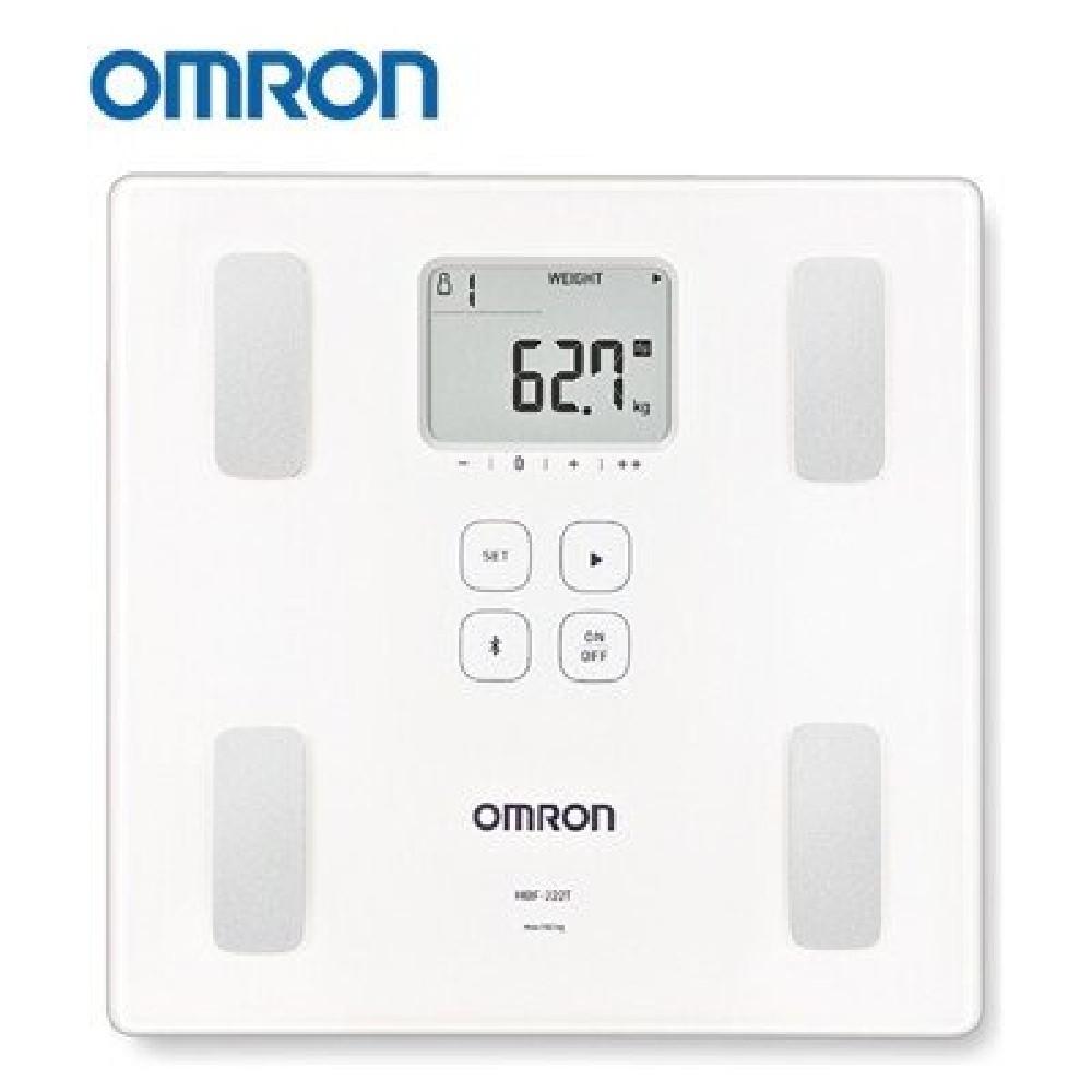 OMRON歐姆龍 HBF-214 體重體組成計 測量體質指數 BMI 基礎代謝 體重 體脂肪 時尚 輕薄 美型   蝦皮購物
