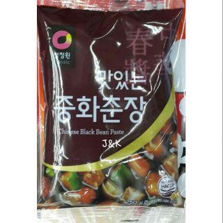 韓國大象韓式黑麵醬/黑炸醬麵/中華春醬250g | 蝦皮購物