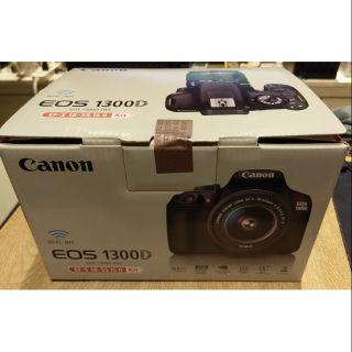 全新未拆公司貨 Canon 1300D 含 18-55 鏡頭 EF-S 單眼相機 DSLR Wi-Fi 佳能機身 | 蝦皮購物