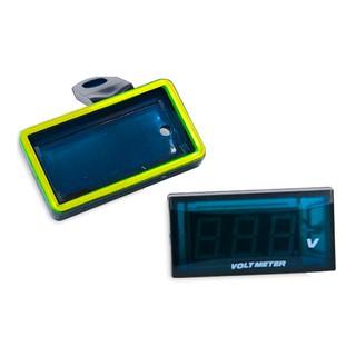 電壓表改裝車載多功能數顯帶支架 12V汽車機車通用電壓檢測表   蝦皮購物
