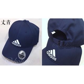 保證正品 夏季限時促銷 adidas 愛迪達 老帽 帽子 刺繡 logo 三條線 帆布 材質 黑 白 丈青 | 蝦皮購物