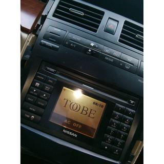 Nissan Teana 原廠音響主機 面板 含冷氣控制面板 | 蝦皮購物