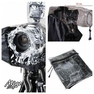 【單眼相機防水雨罩】相機雨衣-單眼相機防雨罩數碼相機雨衣防水套外置閃光燈雨中拍攝 | 蝦皮購物