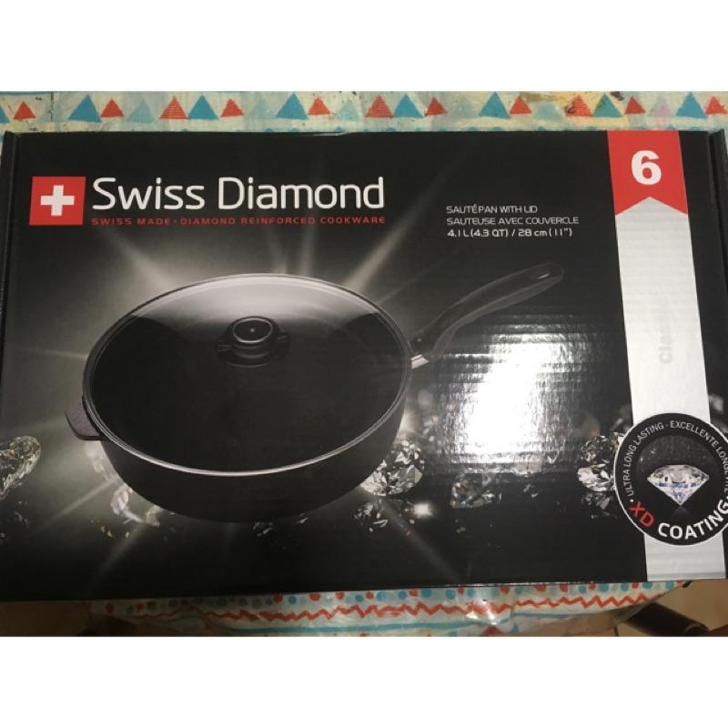 全聯瑞士鑽石鍋 swiss diamond 不沾鍋 | 蝦皮購物
