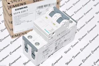 德國西門子SIEMENS 5SY4220-7 MCB-C20 20A 2P 無熔絲開關 斷路器 迴路開關 x1個 | 蝦皮購物