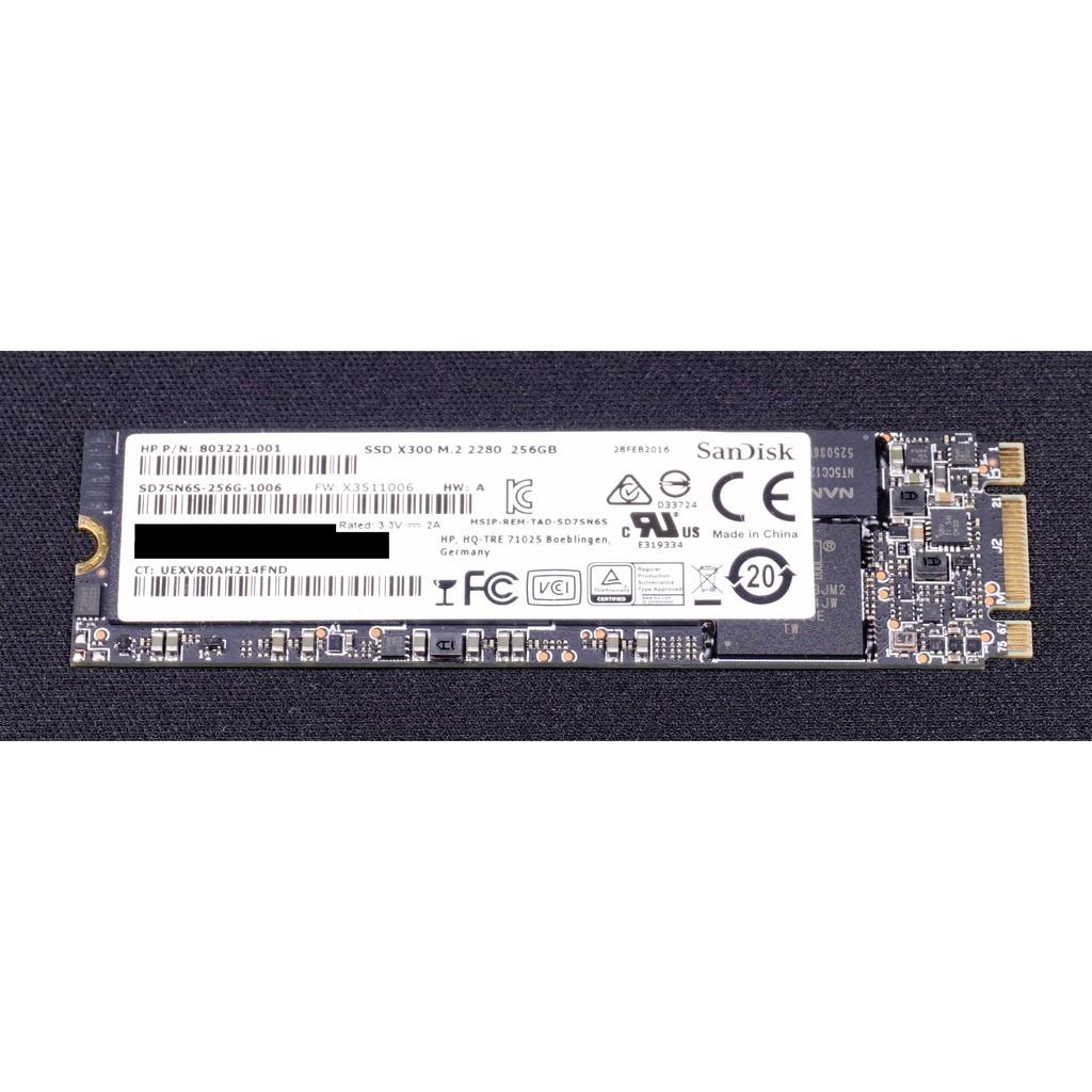 Sandisk X300 SSD 256GB M.2 2280 SATA III HP OEM 固態硬碟 | 蝦皮購物