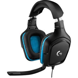[贈耳機架] Logitech 羅技 G431 7.1 聲道 有線 遊戲 電競耳機麥克風 PCHot | 蝦皮購物