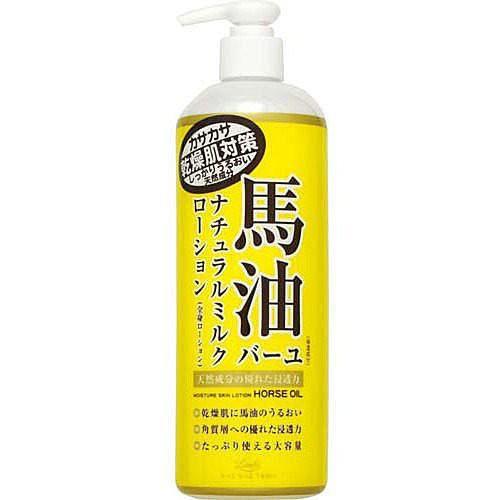 日本Loshi 馬油保濕潤膚身體乳液485ml   蝦皮購物