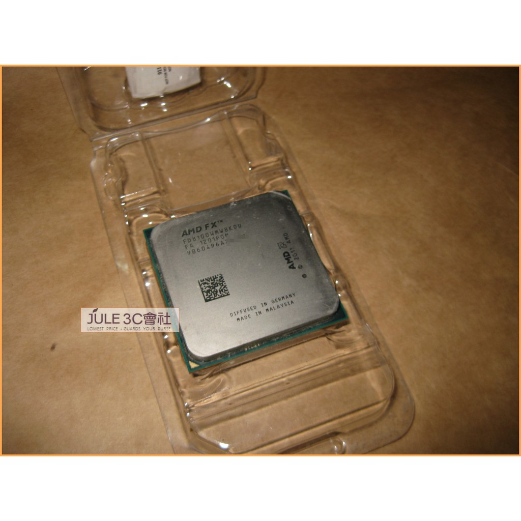 JULE 3C會社-AMD FX 8100 2.8Ghz FD8100/八核心/95W/推土機/8MB/AM3+ CPU | 蝦皮購物