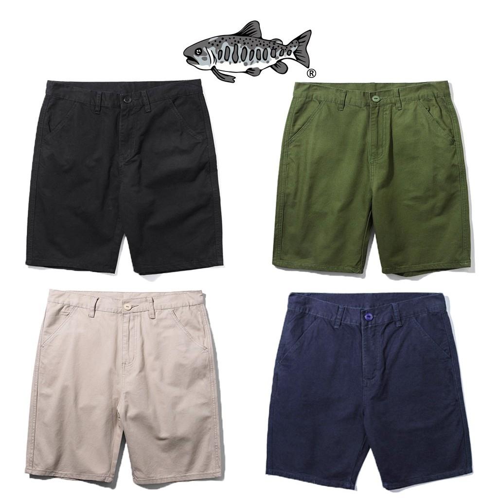 【JKS】AGILITY Bermuda Shorts 斜紋布 工作寬膝上 五分寬短褲 [P48] | 蝦皮購物